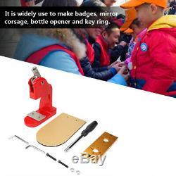 1Pcs Badge Maker Machine Pin Button Cut Cutter Making Pin Press Button