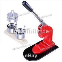 1.25 32mm Button Parts Maker Badge Punch Press Machine 1000 Parts Circle Cutter