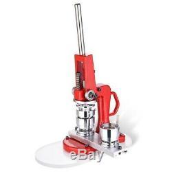 1 25mm Badge Button Maker Machine Press 500 Parts Circle Cutter US mod #510990