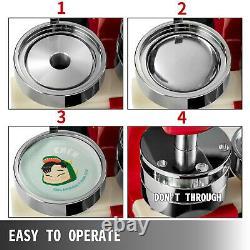 1 25mm Badge Button Maker Press 500 Parts Bags Circle Cutter Aluminium Frame