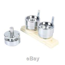 1/25mm Button Maker Machine Badge Punch Press 1000 Parts Circle Cutter Tools