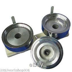1-3/4 44mm Button Maker Machine Badge Press+1000 Button Supplies+ Circle Cutter