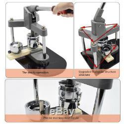 1-3/4 44mm Button Maker Machine Badge Press Round Pin Circle Cutter DIY Gifts
