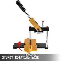 1.73 44mm Button Maker Machine 100Pcs Ruota Cutter Steel Punch Clothes Press