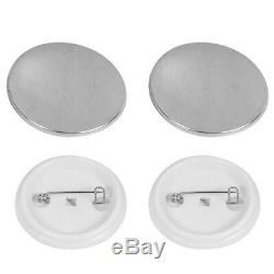 1.75 44mm Button Maker Badge Press Machine+1000 Button Supplies + Circle Cutter