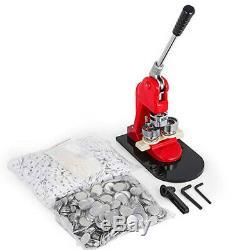 25/32/44/58/75MM Button Maker Machine Badge Punch Press 100 Parts Circle Cutter