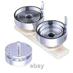 25/32/44/58mm Button Badge Maker Machine Press Punch Button Parts Circle Cutter