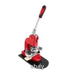 25/32/58mm Badge Button Maker Punch Press Machine With Circle Cutter Button Part