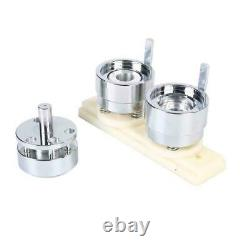 25mm Badge Maker Machine Making Pin Button Punch Press + 1000pc Cutter Kits Set