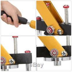25mm DIY Button Maker Badge Punch Press Machine Cutter Accessories Set Durable