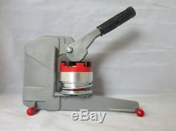 2-1/4 Standard Button Maker Badge Punch Press Machine Includes 250 Parts Cutter