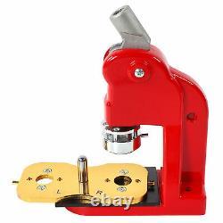 32mm Badge Maker Machine Making Pin Button Badges Press Cutter 1000Parts