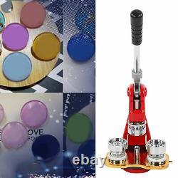 32mm Badge Maker Machine Making Pin Press1000pcs Button Parts Circle Cutter Kits