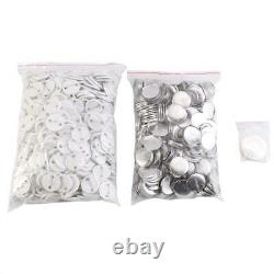 32mm Button Maker Badge Punch Press Machine Cutter 1000pcs Free Button Accessory