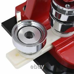 37MM Badge Maker Machine Making Pin Button Press Cutter 500 Circle Button Parts