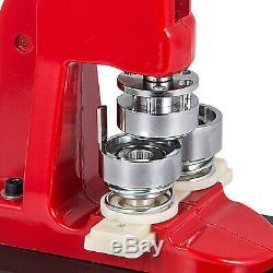 44mm(1.73) Button Badge Maker press 1000 Pcs handle circle cutter comfortable