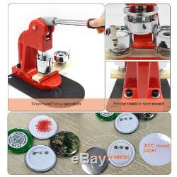 56MM Badge Maker Machine Mold Punch Press Circle Cutter DIY Making Pin Buttons