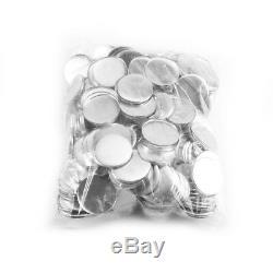 58MM Button Maker Machine Badge Press+1000 Button Supplies+ Circle Cutter 3 Dies