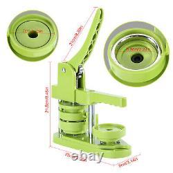 58mm Badge Maker Machine Making Pin Button Badges Press Cutter Kit DIY Kids Fun