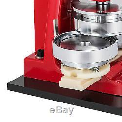 75mm(3) Button Badge Maker press 500 Pcs Metal Slide Circle Cutter Machine