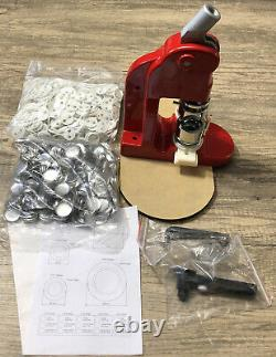 75mm 3in BADGE MAKER Button Press Circle Cut Out Rotary Cutter Set