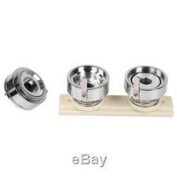 75mm Button Badge Maker Punch Press Machine 500PCS Parts & Circle Cutter