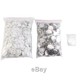 Accurate 25Mm Button Maker Badge Punch Press Machine and 1000 Parts Cutter C8A8