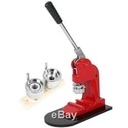 Accurate 25Mm Button Maker Badge Punch Press Machine and 1000 Parts Cutter Q5F2
