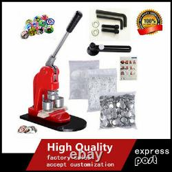 Accurate 58mm Button Maker Badge Punch Press Machine+1000 Parts Cutter New UK