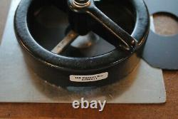 Adjustable Rotary Circle Cutter Button Maker Machine Press 1 1-1/2 2-1/4 3 3-1/2