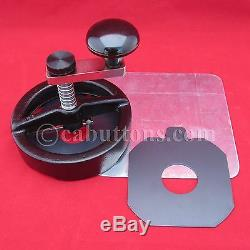 Adjustable Rotary Circle Cutter Button Maker Machine Press 1,1-1/2,2-1/4,3,3-1/2