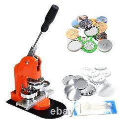 Aluminum Slide Button Maker Punch Press Badge Machine Circle Cutter Die Mould