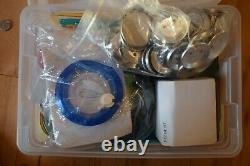 Badge A Minit Button Maker & Some Supplies And Cutter Press Makes 2 1/8 Buttons