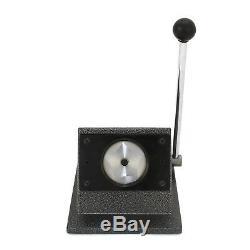 Badge Maker Bundle Press Cutter Pin Button Badges Machine Making Kit 25/37/58mm