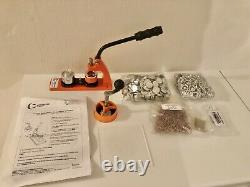 Badge Maker Machine Making Pin Button Badges Punch Press 25mm +1000 Cutter Kits