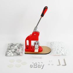 Button Abzeichen Maker Press De Mashine 500 Stücke Blank Materialien Cutter Gute