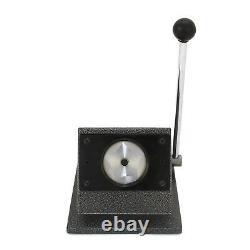 Button Maker Badge Punch Press Cutter Pin Button Machine Kit 25/37/58mm BUNDLE