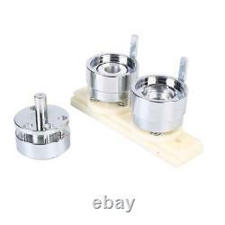 Button Maker Badge Punch Press Machine Circle Cutter Kit 25mm+1000pcs Button Set