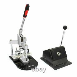 Button Maker Badge Punch Press Machine & Circle Cutter Kit 25mm B0355