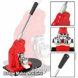 Button Pin Maker Press Cutter Machine 1000 Circle Sale Badge Making Quality Kit