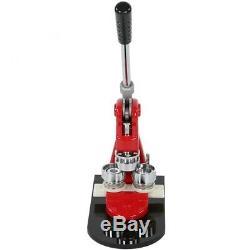 Genaue 25 Mm Button Maker Badge Punch Pressmaschine und 1000 Teile Cutter N S8A7