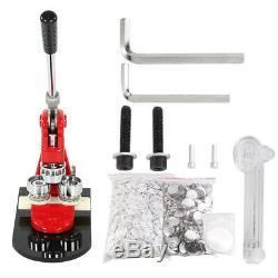 New 5.8cm/2.28 Button Maker Machine Badge Punch Press 1000 Parts Circle Cutter