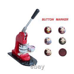 New 75mm Button Badge Maker Machine Press Punch Button Parts Circle Cutter