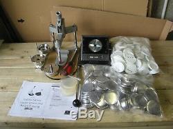 PixMax Badge Maker Machine/Making Pin Button Badges-Press & Cutter A3549