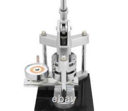 Pixmax Cutter Badge Components Press Maker Machine Kit Pin Button Strong Metal