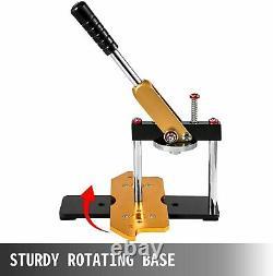 Rotate Button Maker Badge Punch Press Machine 100pcs Parts Paper Cutter 25-75mm