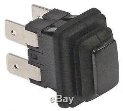 Sammic Press Button for Cutter SK-3, SKE-3, SK-5, SK-8, SKE-5 250V 1NO Black